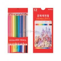 <문화연필> 문화12색연필(종이)