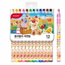축지식 색연필12색 (여아용)