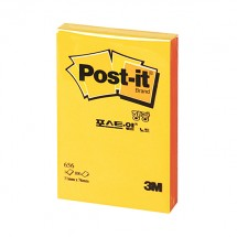 [3M]포스트잇656형광