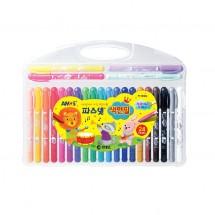 아모스/24색 파스넷 색연필