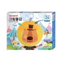 모나미/ 모니주 24색 그림물감